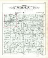 Waterloo Plat, Jefferson County 1899